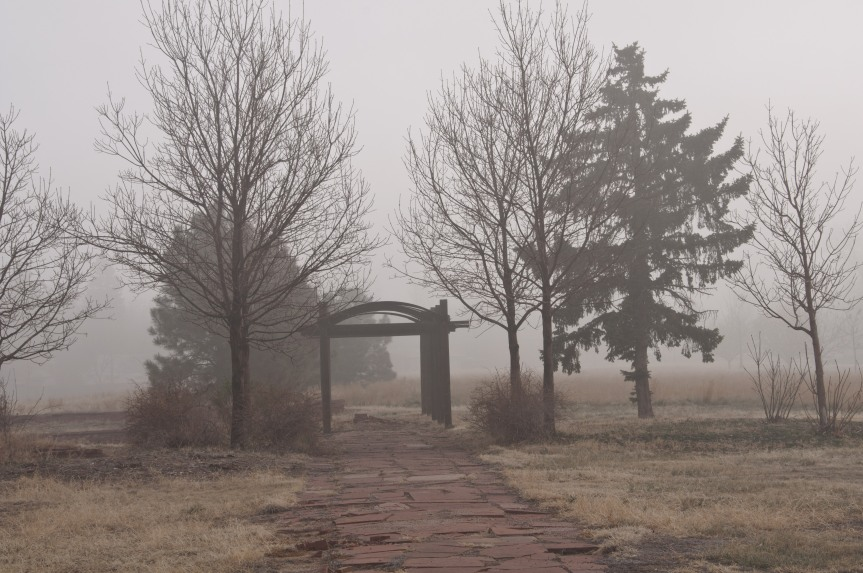 Archway in the Fog