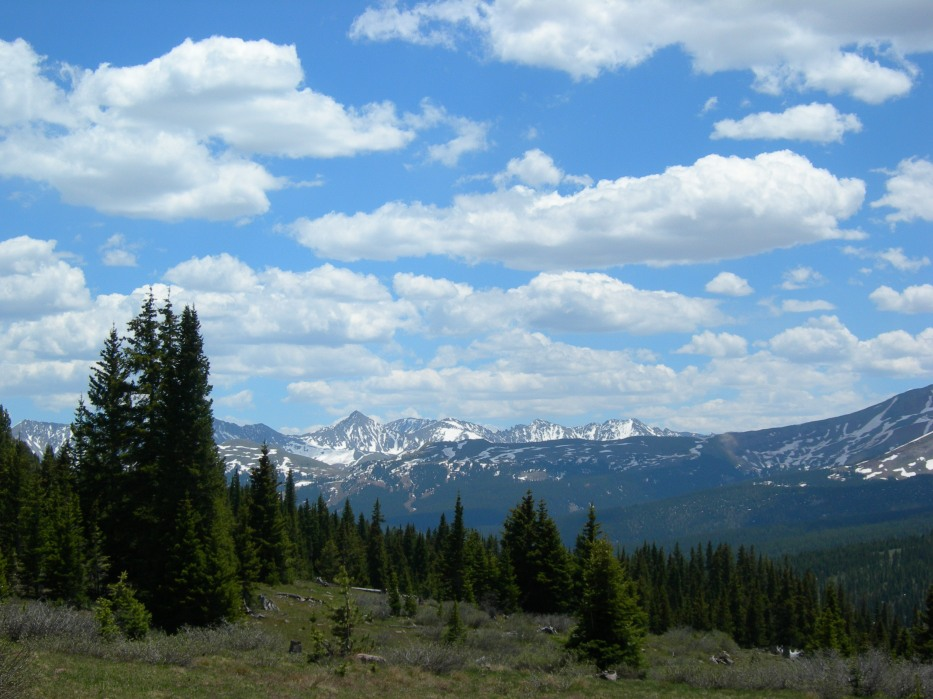 View from Shrine Pass