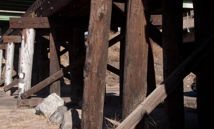 Under the Trestles and Bridges