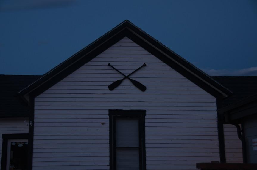 Boathouse at Night