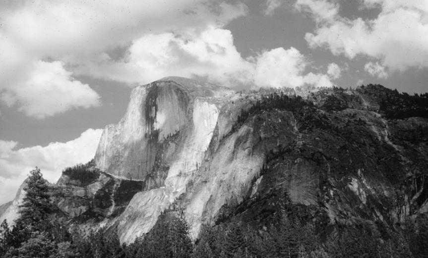 Half Done at Yosemite - 1966