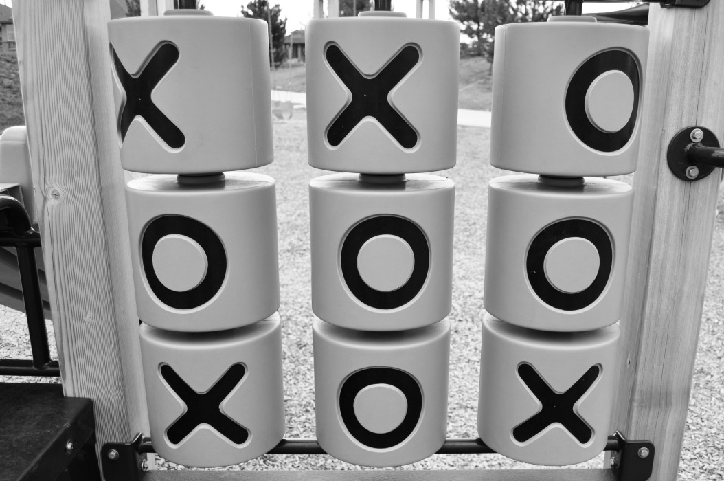Tick Tac Toe in the Park
