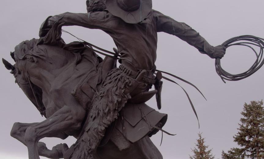 Cowboy in Bronze