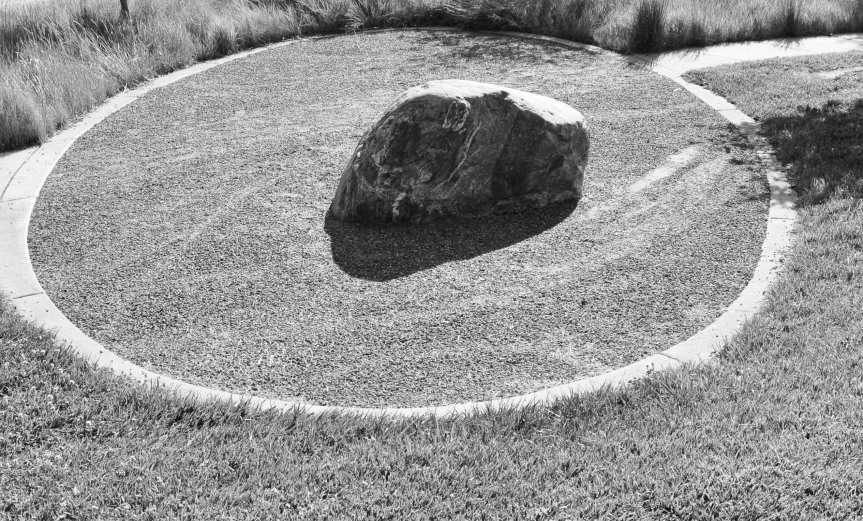 A Rock in a Park