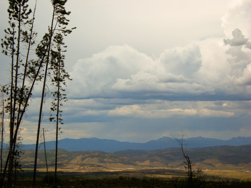 Storm Clouds over Frasier Valley