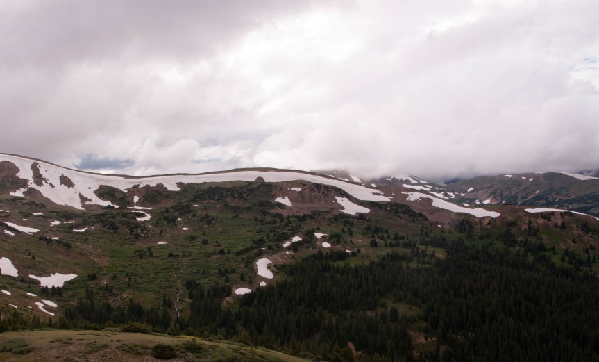 Storm Clouds over the Divide