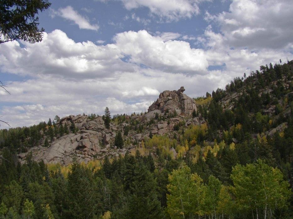 Precarious Rock Pile