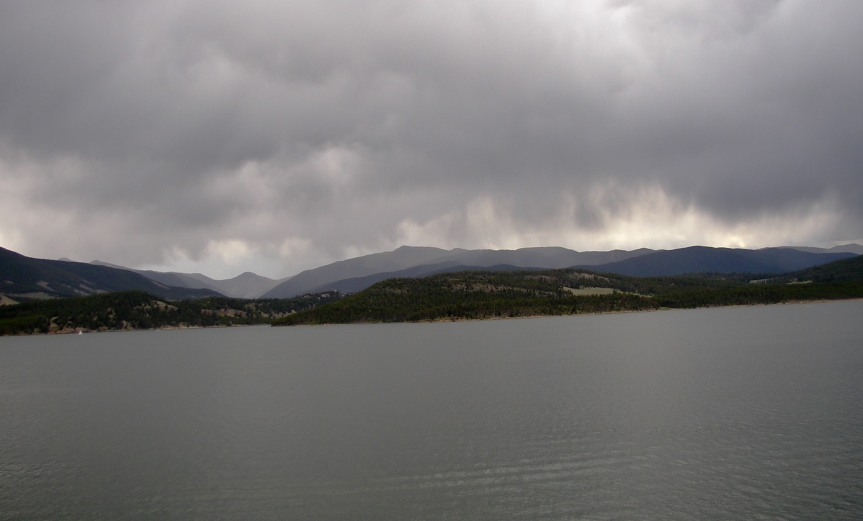 Storm Clouds over Dillon Reservoir