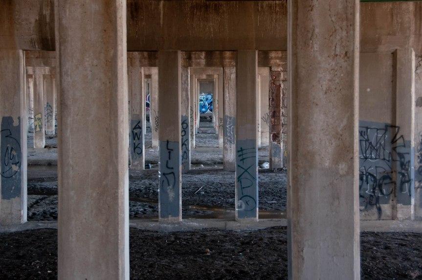 Under the Vasquez Bridge