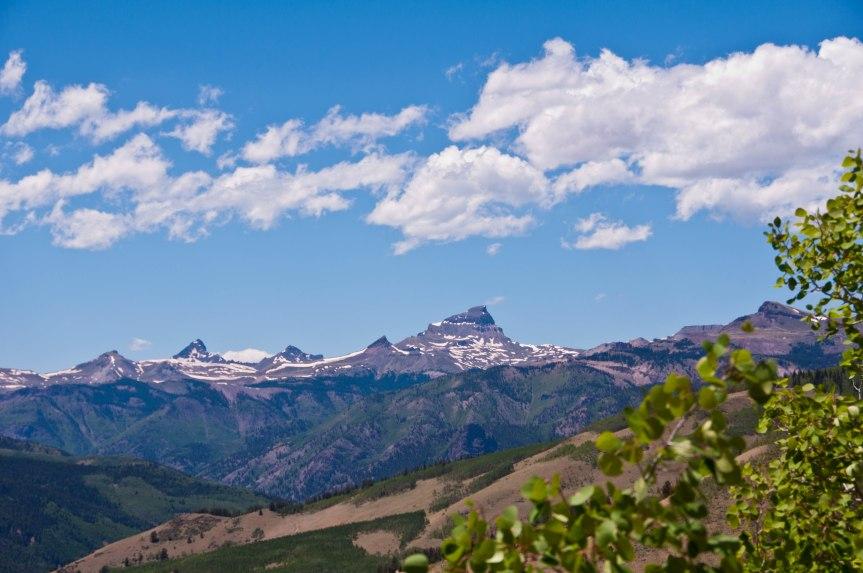A View from Slumgullion Pass