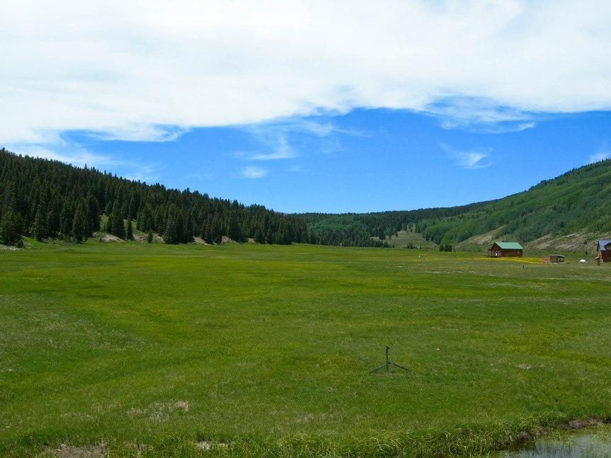 High Mountain Valley