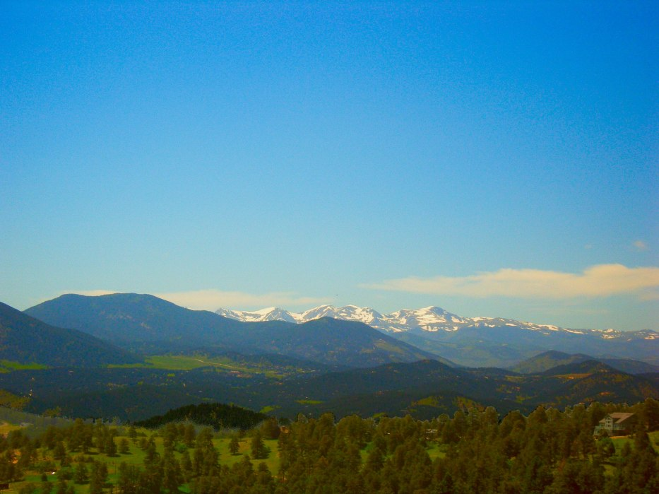 From Foothills to Rockies