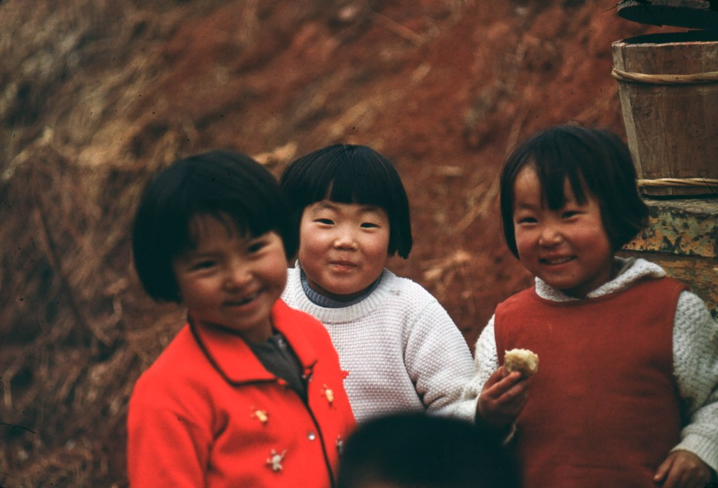 Children in Korea - 1968
