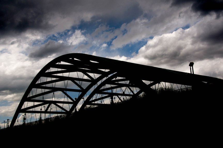 Profile of a City Bridge