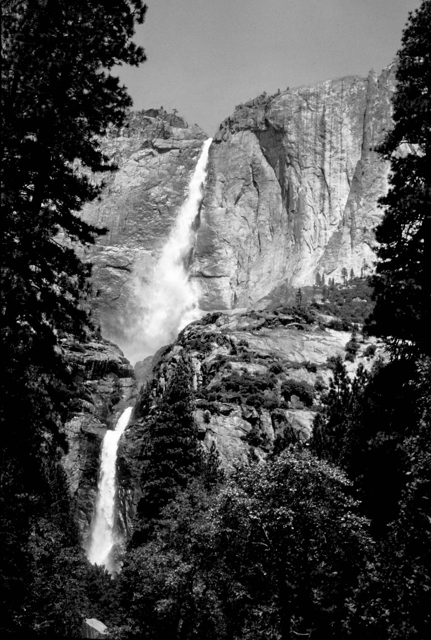 Yosemite Falls - 1966