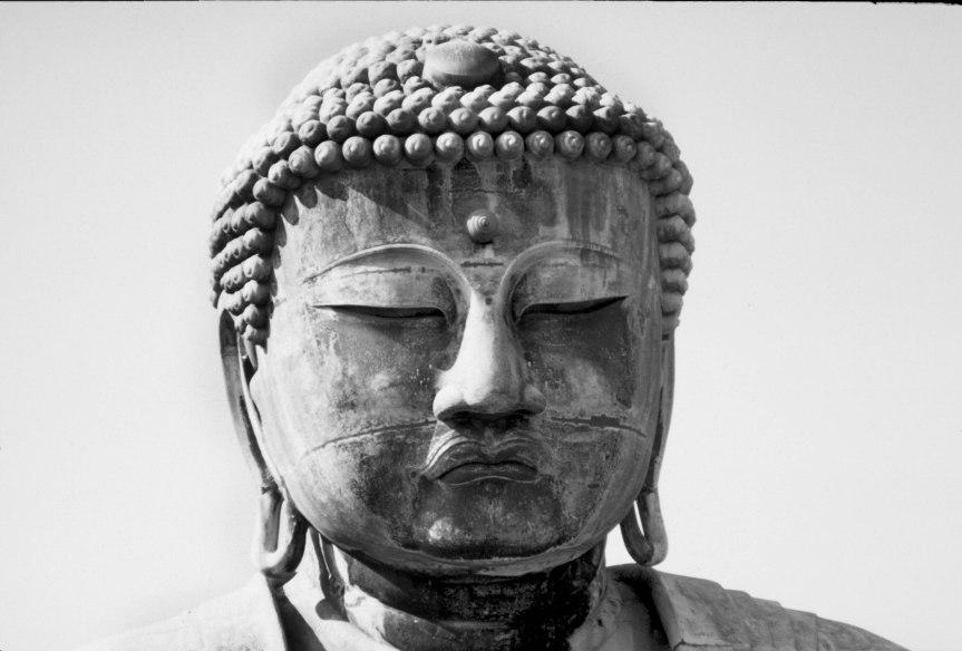 Buddha Statue, Japan - 1968