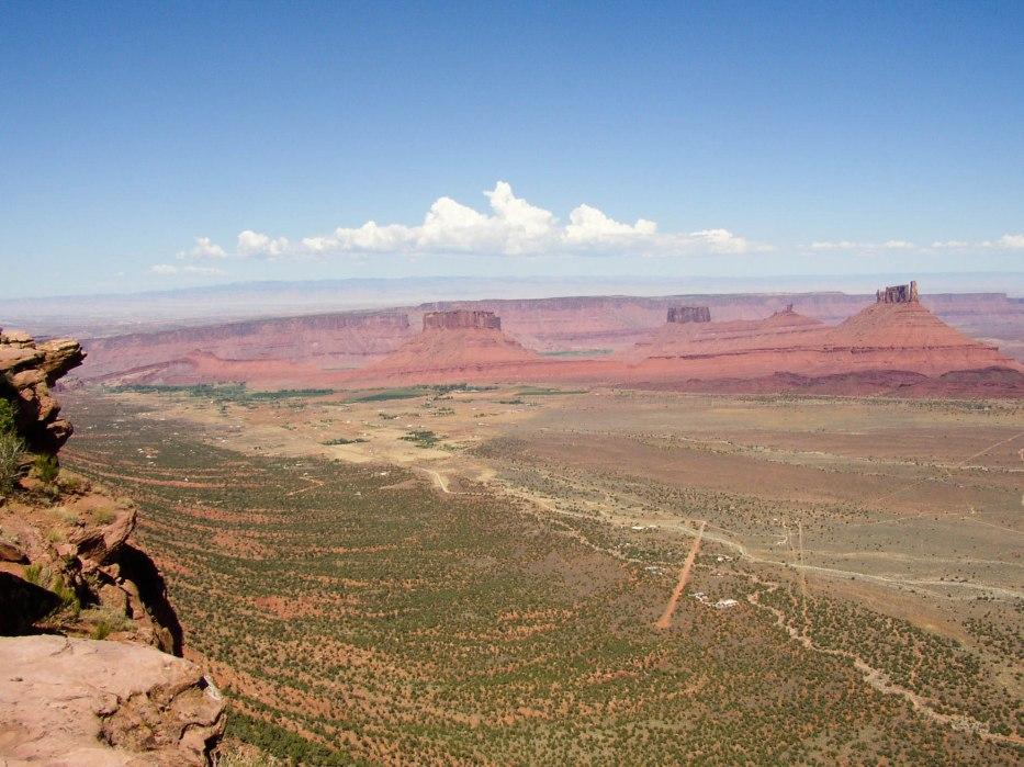View from Porcupine Ridge, Moab, Utah