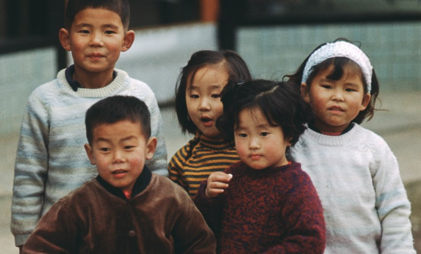 Korean Street Children - 1968