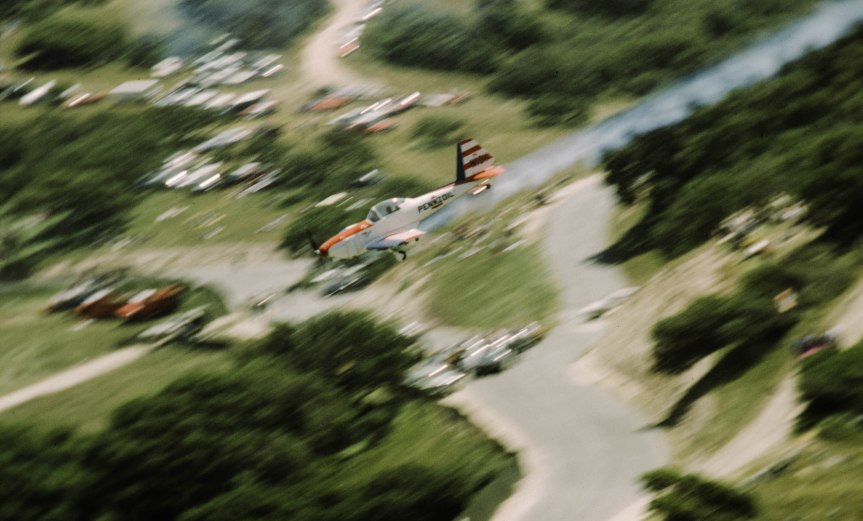 Aerobatics at Laguna Seca