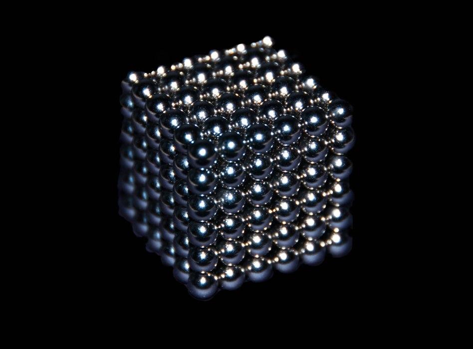 Not Borg Cube...Bucky Balls