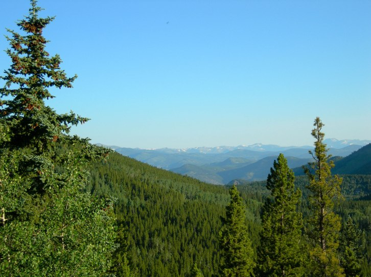 View from Squaw Pass