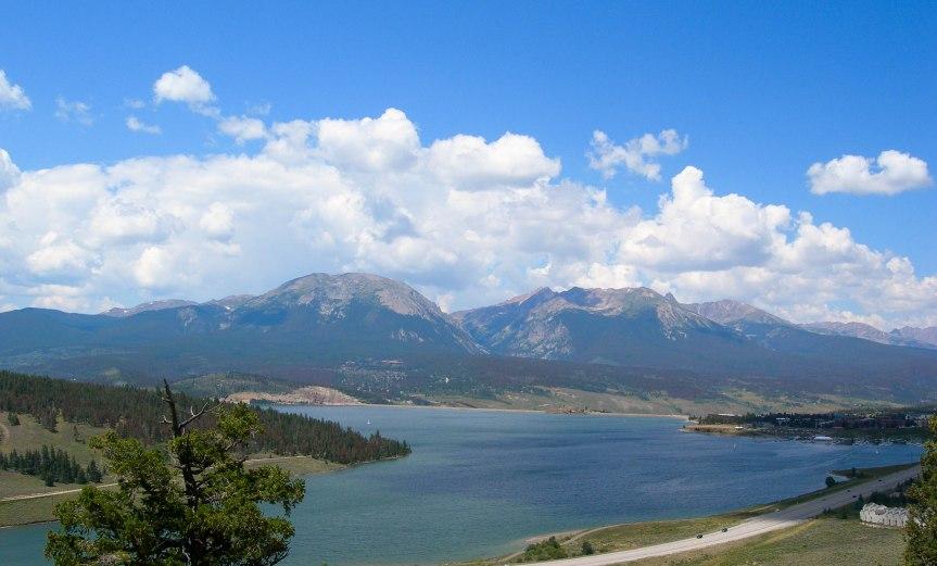 Overlooking Dillon Reservoir