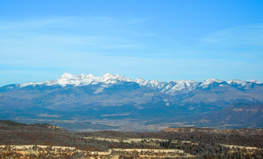 A View from Mesa Verde
