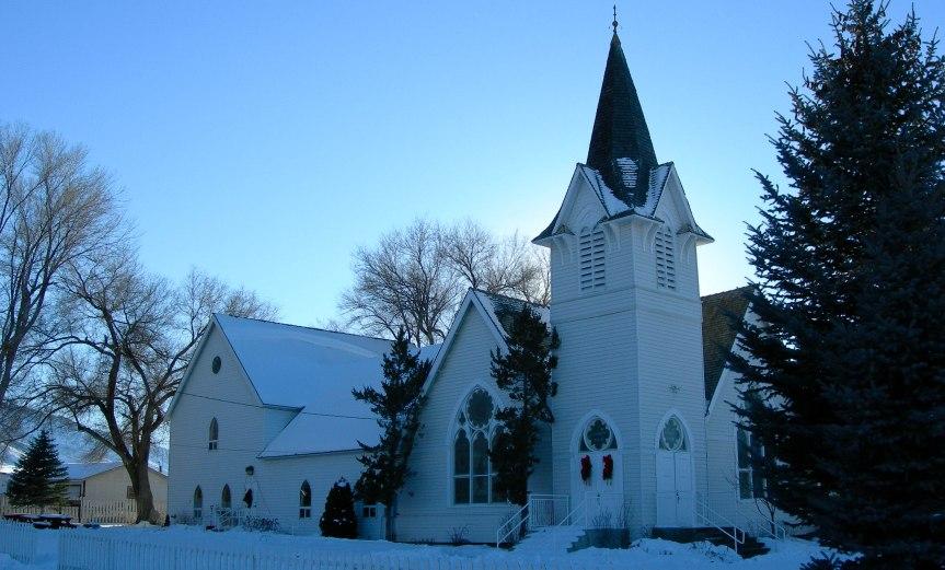 Rural Church in Nevada