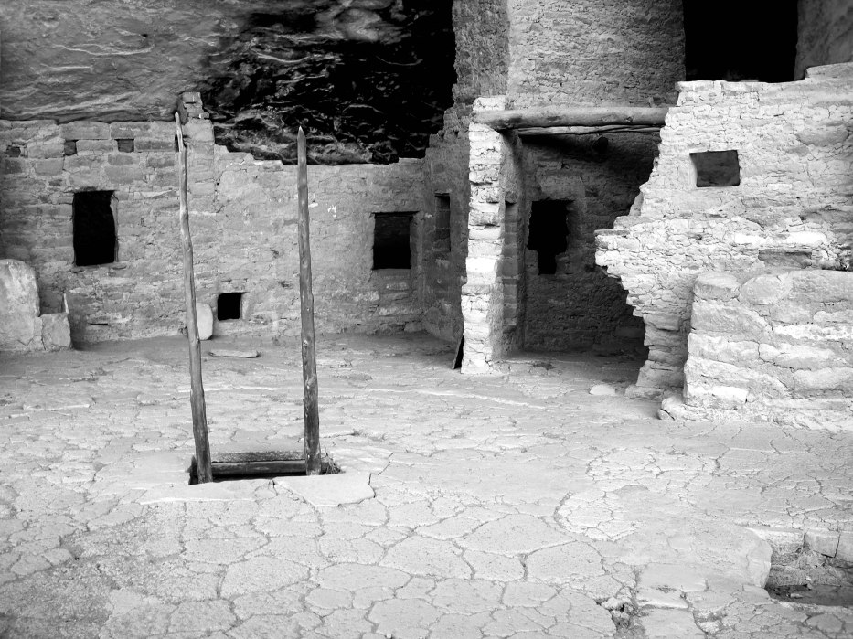 Inside Pueblo at Mesa Verde