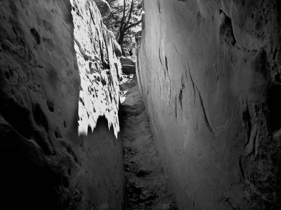 Ancient Stairway at Mesa Verde