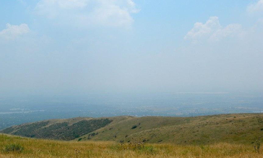 Haze over Green Mountain