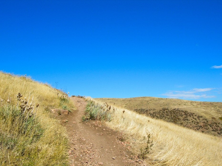 Bike Trail toward the Sky