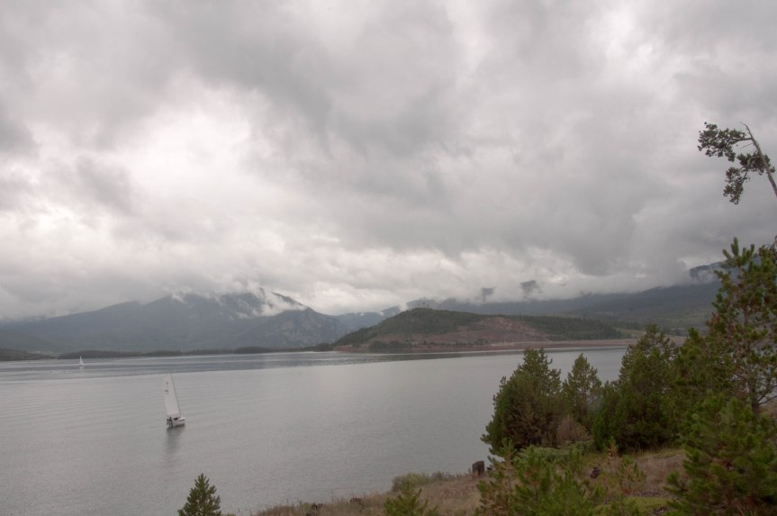 Storm Clouds over Dillon Reservoir