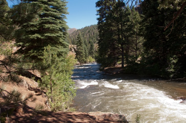 Down the North Fork of the South Platte River