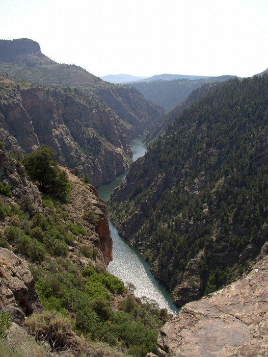 Black Canyon on Gunnison River