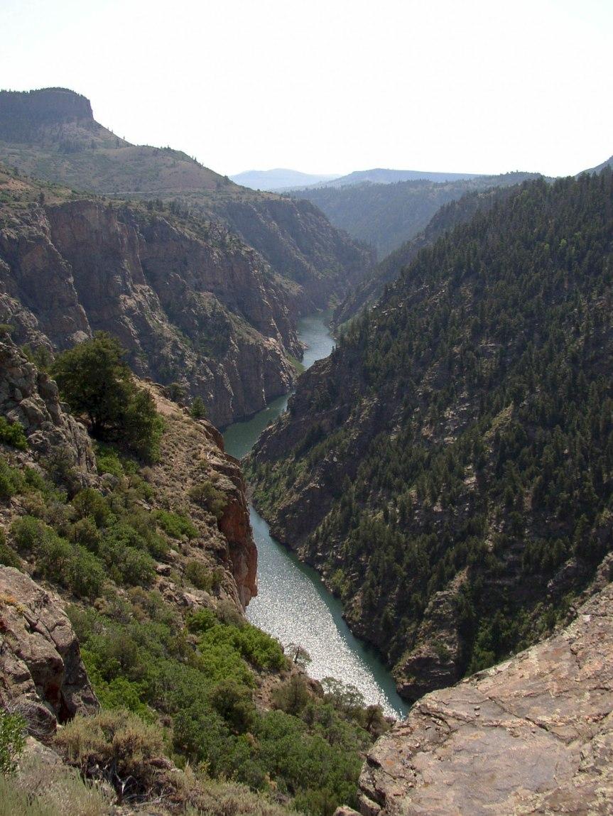 Black Canyon on Gunnison River