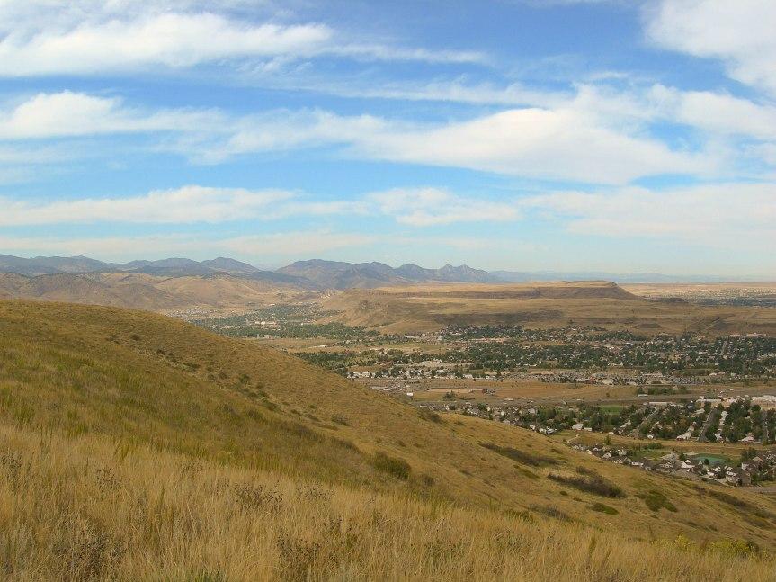 Plains City Meets Mountains
