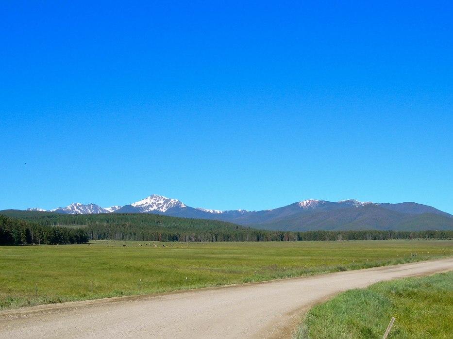 Road Across the Fraser Valley, Colorado