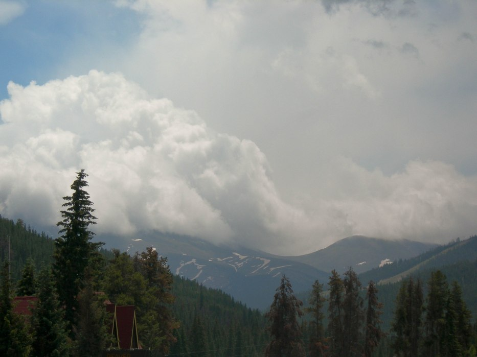Clouds Roll Over Berthoud Pass