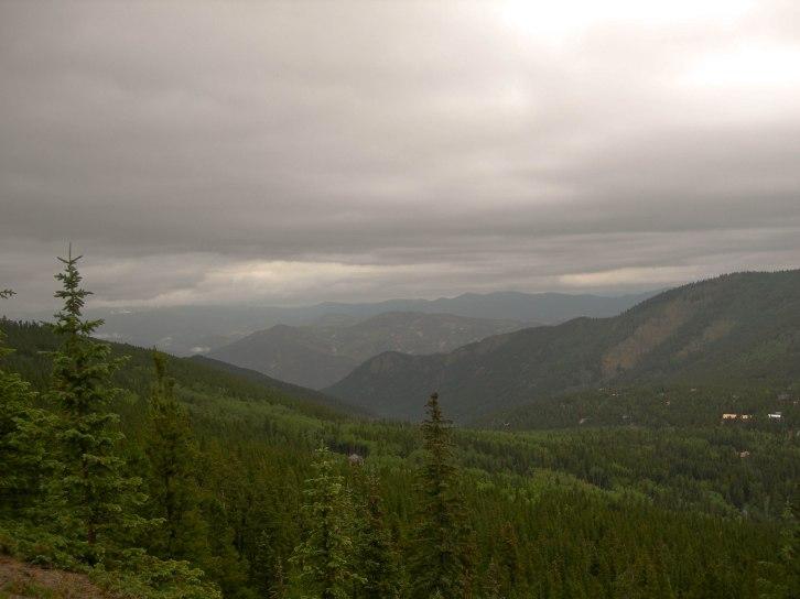 Storm over Juniper Pass