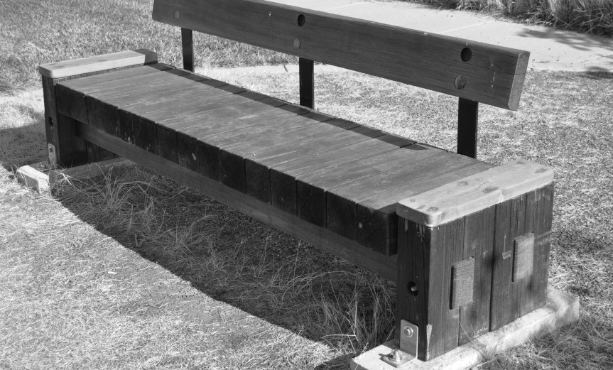 Real Park Bench
