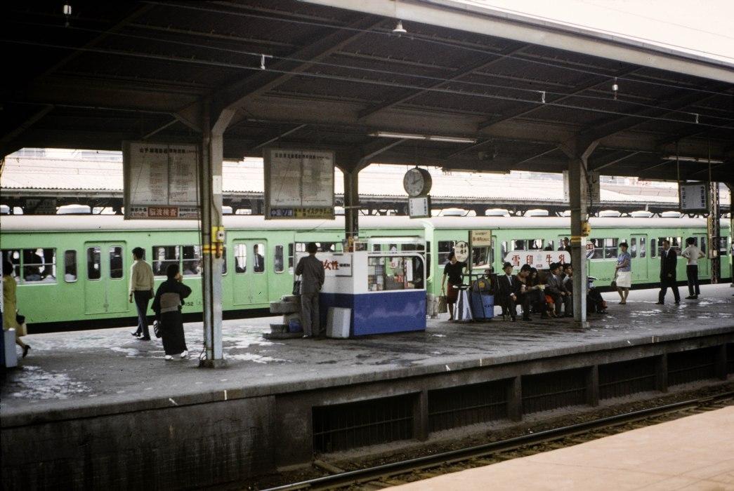 Train Station - Japan, 1968