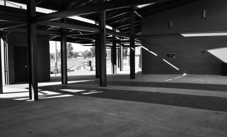 Shadows at a Ballpark