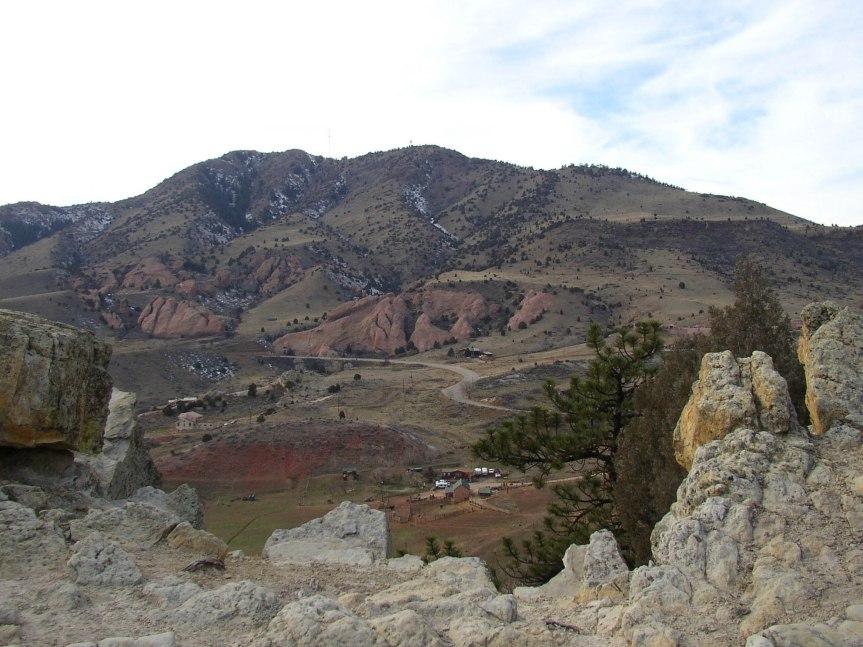 Red Rocks Park from Dakota Ridge