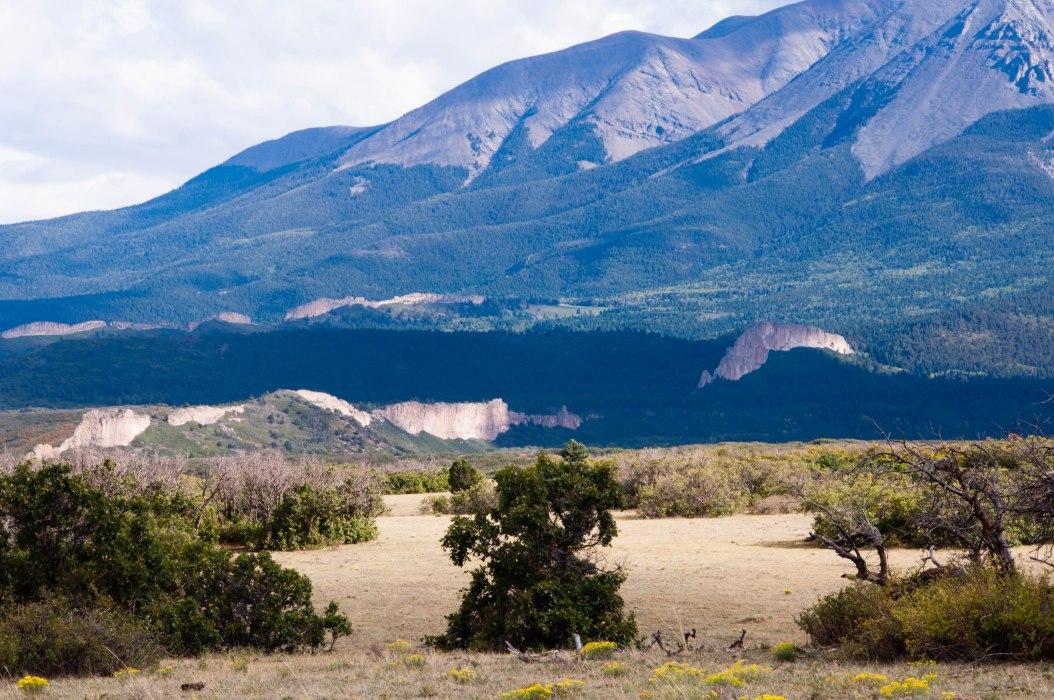Rock Walls Near Spanish Peaks, Colorado
