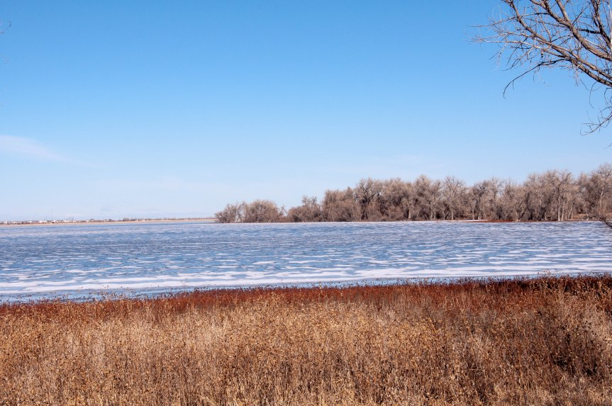 View Over Frozen Lake