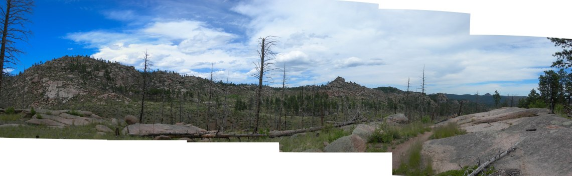 Panorama from Bike Trail