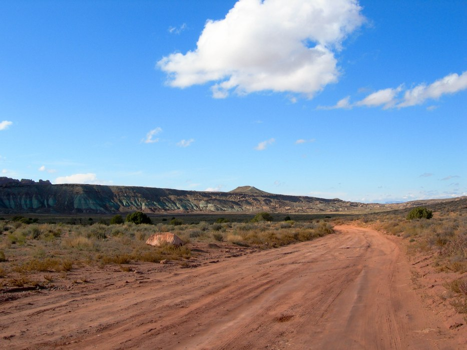 Road Through Utah Prairie