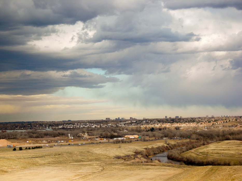 Denver from Chatfield Dam