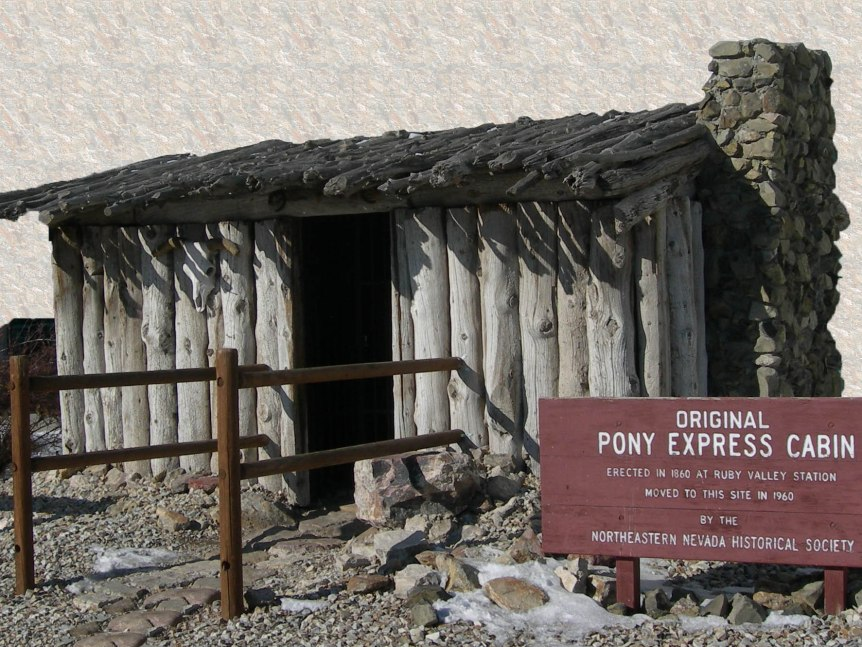 Pony Express Cabin
